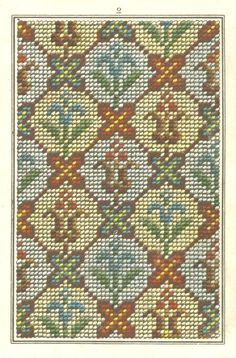 Free Easy Cross, Pattern Maker, PCStitch Charts + Free Historic Old Pattern Books: Sajou No 309 Cross Stitch Love, Cross Stitch Borders, Cross Stitch Flowers, Cross Stitching, Cross Stitch Embroidery, Cross Stitch Patterns, Needlepoint Designs, Needlepoint Pillows, Hand Embroidery Design Patterns