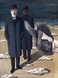 René Magritte - Le sens de la nuit (The meaning of night), 1927.