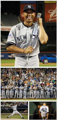 Mariano Rivera - NY Yankees  Mo's last All Star game.  Who else has played in the All Star game their last season of their career?