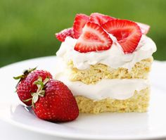 Strawberry Shortcake Two delicious details make this strawberry shortcake recipe perfect for diabetics and low carbers: The lack of sugar, a...