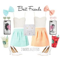 Best friend/twins outfits.. also can be worn with flats too