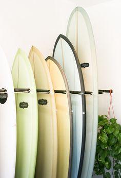 Pastel surfboards | Image via Frivolously