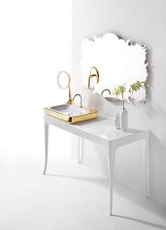 Meuble console et vasque par Jaime Hayon pour Bizazza Bagno #covetlounge @covetlounge
