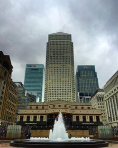 Canary wharf London by tcmboss93