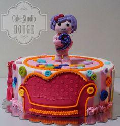 Lalaloopsy - by Ceca79 @ CakesDecor.com - cake decorating website