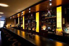 restaurant bar design ideas | Contemporary American Fine Dining Restaurant Interior Design of Glass ...