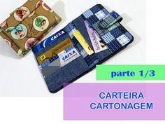 CARTEIRA EM CARTONAGEM - PARTE 2   Por Rafaela Ferreira - YouTube
