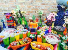 Mexican Dessert Table On Pinterest Mexican Desserts Mexican Party