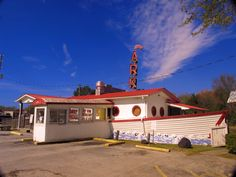The Ark Drive In- Jacksonville NC. I have eaten a million hush puppies from here!