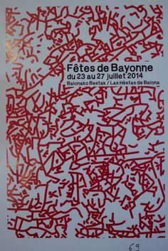Toutes les affiches des fêtes de Bayonne de 1932 à 2014 Photo