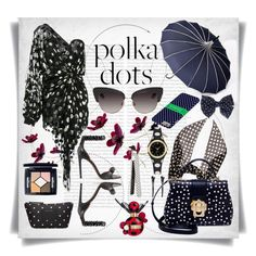 """So Dotty: Polka Dots"" by imbeauty ❤ liked on Polyvore featuring Oris, Alaïa, Dolce&Gabbana, Yves Saint Laurent, Kate Spade, Marc Jacobs, Royale, Christian Dior and PolkaDots"