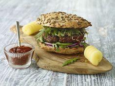 Domowy burger witaminowy