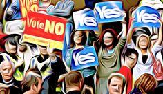 Yes No Scotland