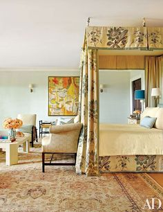 A Hamptons bedroom d