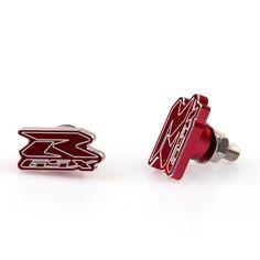 Mad Hornets - Suzuki GSXR Logo Bolts License Plate Bolt 2/Pack Red, $14.99 (http://www.madhornets.com/suzuki-gsxr-logo-bolts-license-plate-bolt-2-pack-red/)