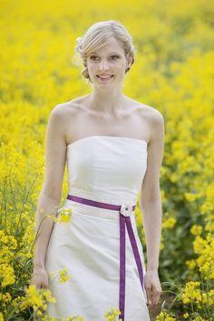 Noni brautkleid lila