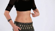 How to Do a Belly Roll in Belly Dancing