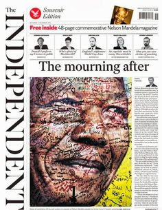 welcome all visitors: FRONT PAGES: 'MOURNING AFTER' MANDELA AND WORLD CUP DRAW