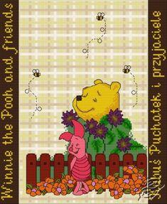 Winnie the Pooh and Friends - Free Cross Stitch Pattern