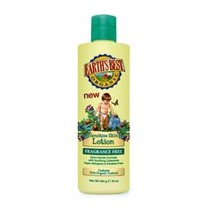 Earth's Best, Earth's Best Sensitive Skin Lotion - Fragrance Free, 16 oz