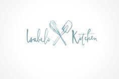 Julie Song Ink - Clever handwritten logo design
