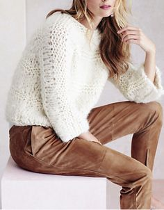 chunky knit pullover  http://rstyle.me/n/q6wh2pdpe