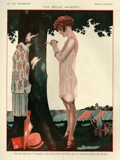 1920s France La Vie Parisienne Magazine