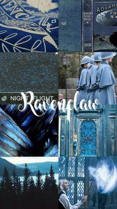 Ravenclaw aesthetic // hogwarts houses