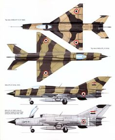 During the opening attacks of the 1967 Six Day War, the Israeli Air Force struck Arab air forces in four attack waves. In the first wave, IDF aircraft claimed to have destroyed eight Egyptian aircraft in air-to-air combat, of which seven were MiG-21s; Egypt claimed five kills scored by MiG-21PFs. During the second wave Israel claimed four MiG-21s downed in air-to-air combat, and the third wave resulted in two Syrian and one Iraqi MiG-21s claimed destroyed in the air.