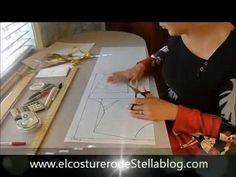 Trazo del cuello para la chaqueta - El costurero de Stella