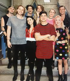 INROCK 2017 10月 5SOS and Hey Violet
