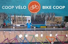 Bike Coop | A service centre of the SFUO. Basketball Court, Bike, Centre, Bicycle, Bicycles