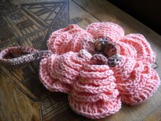 The Rose Puff wash cloth by Yarniwa by yarniwa on Etsy, $14.00