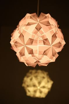 New origami Lamps by sofigiraldo