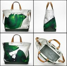 Coach Totes by James Nares Spring Summer 2012
