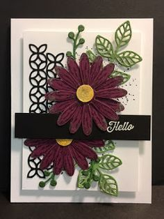 My Creative Corner!: Daisy Delight, Flourishing Phrases, Touch of Texture, Friendship Card, Stampin' Up!, Rubber Stamping, Handmade Cards