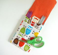 Crochet Hooks Case Double Pointed Knitting by OvationStudio