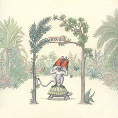 「エルメス」から大切な人にちいさな絵本が贈れる特設サイト   WWD JAPAN.com