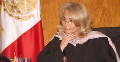 Olga Cordero, ministra de de Suprema Corte de Justicia.  Mariana Macías