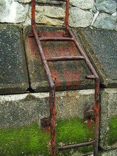 ..as ladders rust...