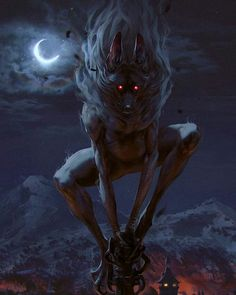 Aguara: True Form Art - Gwent: The Witcher Card Game Art Gallery Dark Fantasy Art, Fantasy Artwork, Fantasy Kunst, Demon Artwork, Anime Fantasy, Anime Artwork, Arte Horror, Horror Art, Monster Design