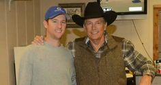George and Bubba Strait George Strait Family, Country Musicians, Army Veteran, King George, Actors, Celebrities, Lady, Awesome, Fashion