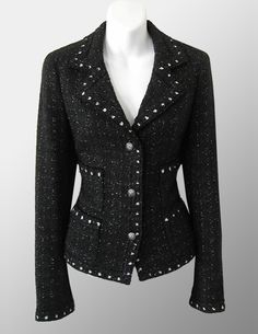 Chanel black/white jacket