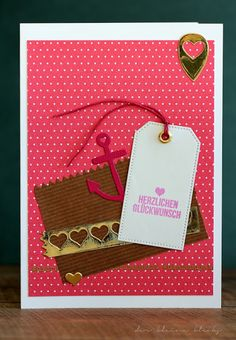 der kleine klecks Happy Birthday Klartext Klartextstempel SU Minileckereientüte Pierced Tags