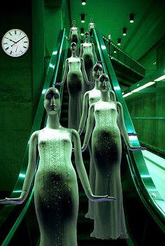 escalator by deepchi1, via Flickr