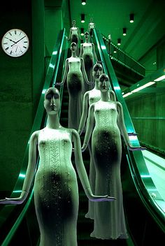 escalator by deepchi1, via Flickr
