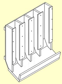 DIY can rotation rack plans, multi configurations - CanRacks.com