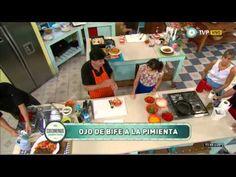 Como somos catering::eventos. Hoy te contamos como hacer Ojo de bife a la pimienta parte 2. - YouTube