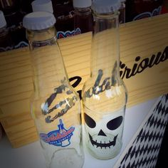 We are open right now serving up Pumpkin Root Beer Black Tongue Soda and Scary Secret Soda at the 4th Annual Haunt Fest on Main Street in Downtown El Cajon. We are on the promenade not too far from our favorite hair stylists @rockabetties #sodajerk #sodalirious #localbusiness #sandiegoevents #sandiego #homemadesoda #craftsoda #elcajon #halloween #fizzfriday