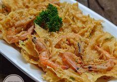 Asian Recipes, Ethnic Recipes, Asian Foods, Crispy Tofu, Indonesian Food, Shrimp Recipes, Junk Food, Street Food, Macaroni And Cheese